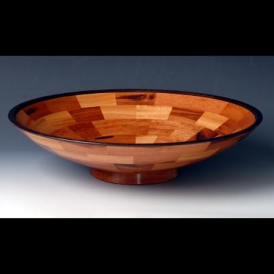 Goncalo and wenge bowl
